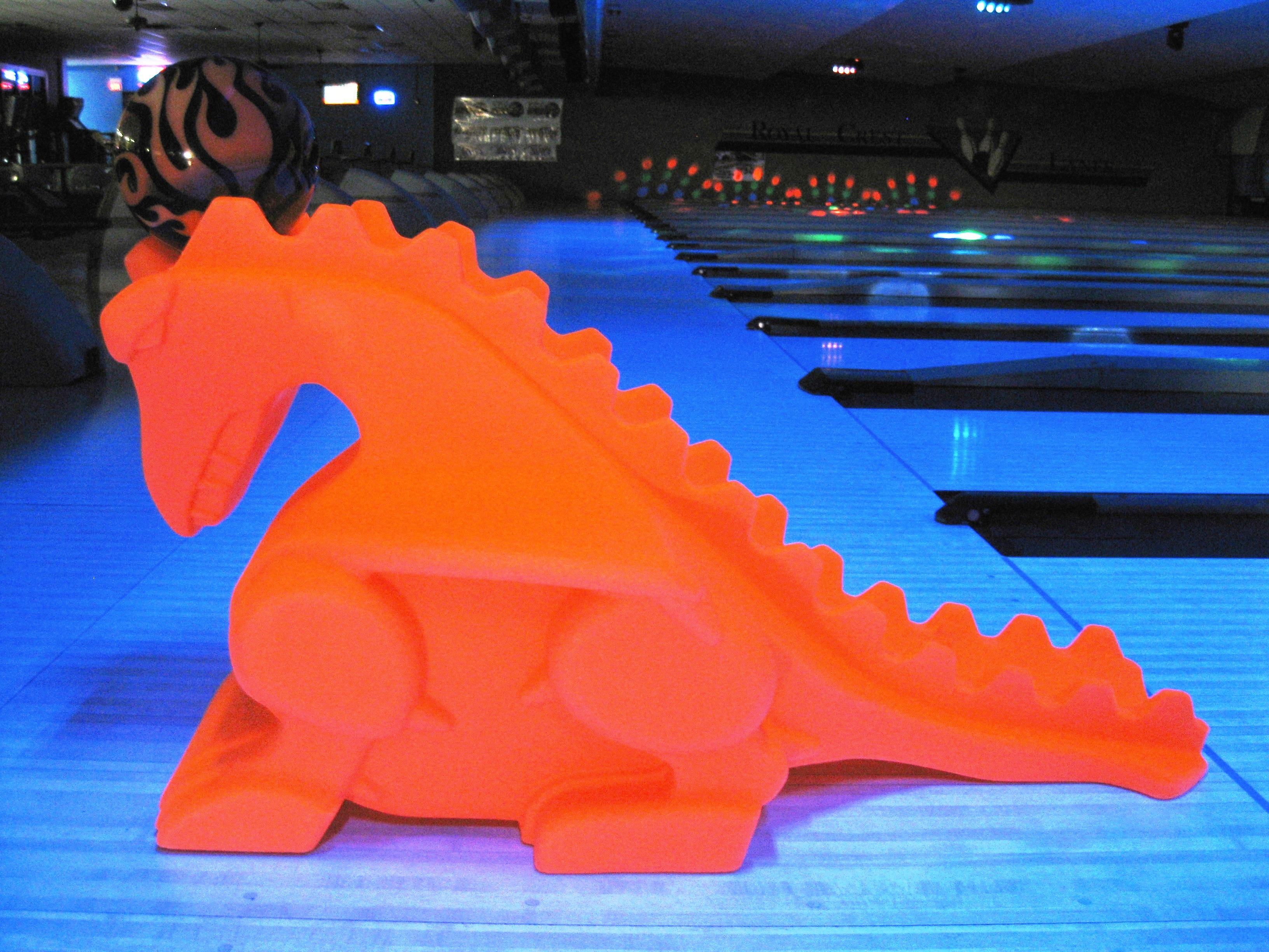 Jayhawk Dragon Bowling Ball Ramp